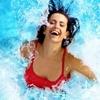 Целый день в аквапарке «Аква-Юна»: серфинг, горки, водопады, гейзеры, бильярд, сауна, джакузи и др.
