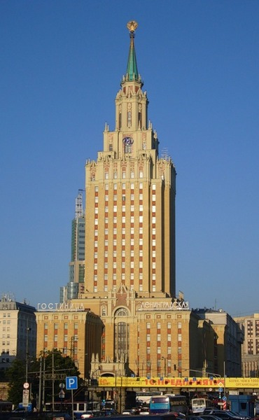 Гостиница Ленинградская - одна из Сталинских высоток