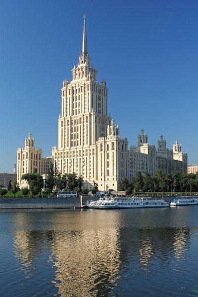 Гостиница Украина - второе по величине здание из Сталинских высоток
