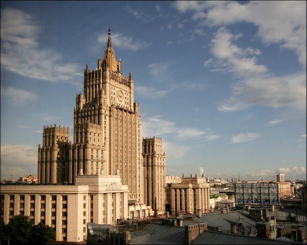 Здание Министерства Иностранных Дел РФ - одна из Сталинских высоток