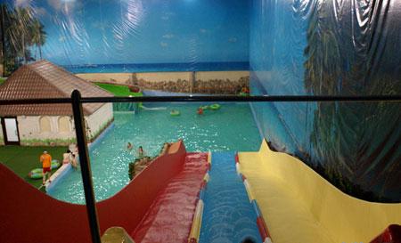 Горка Фэнтези в аквапарке Марьино