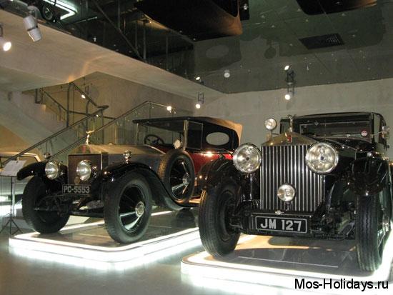 Роллс-Ройсы в музее ретро автомобилей Автовилль