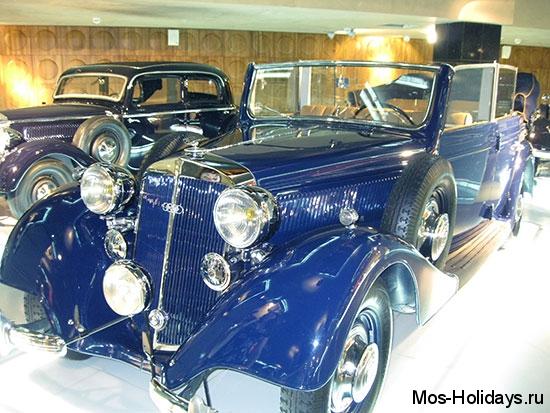 Хорьх в музее ретро автомобилей Автовилль