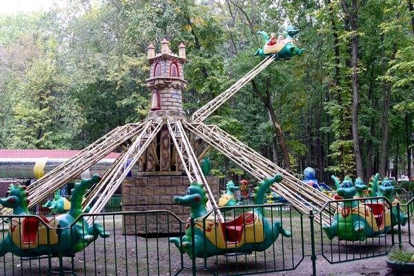 Аттракционы для детей в Бабушкинском парке