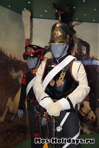Кирасир русский войск времен войны 1812 г. Музей-панорама Бородинская битва
