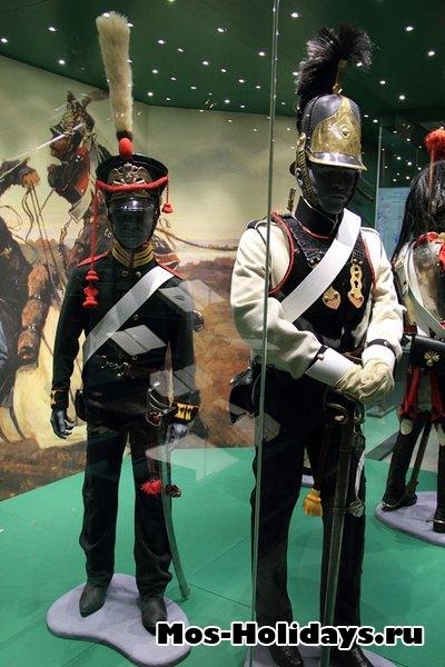 Артиллерист русский войск времен войны 1812 г. Музей-панорама Бородинская битва