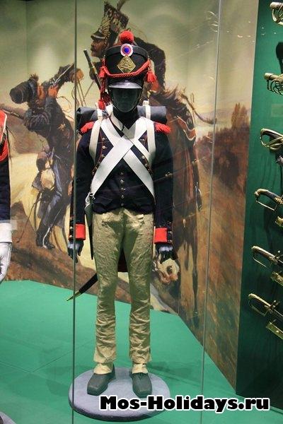 Артиллерист французской армии времен войны 1812 г. Музей-панорама Бородинская битва