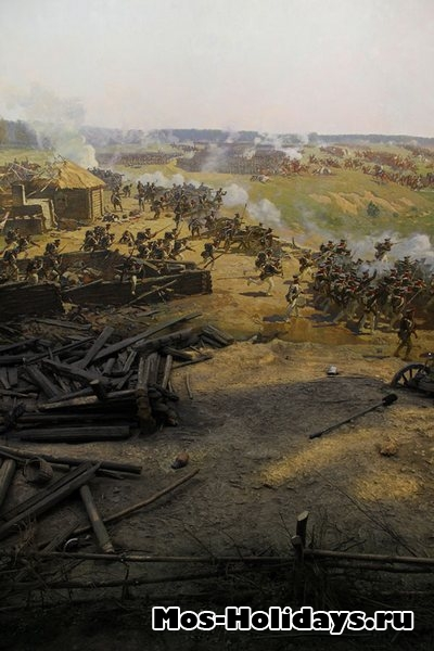 Панорама Бородинской битвы