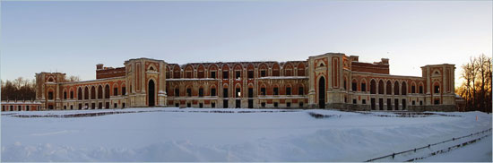 Панорама Большого Дворца в Царицыно, 2005 год