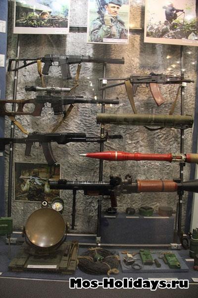 Фотография оружия из центрального музея вооружённых сил.