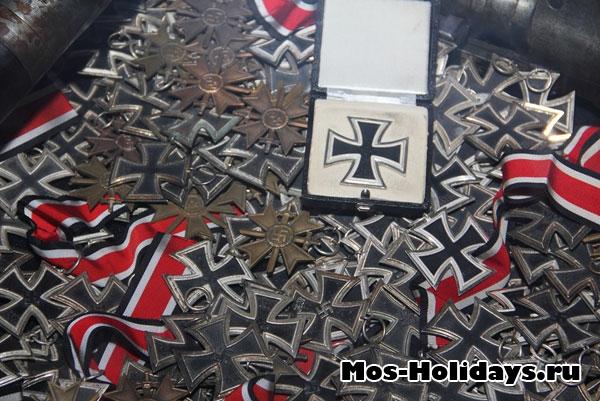 Трофейные немецкие кресты