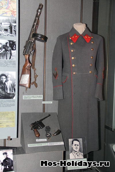 Шинель бойца Красной Армии