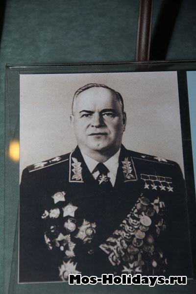 Потртрет маршала Г.К. Жукова.
