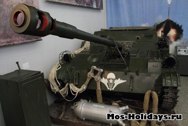 Танк из Центрального музея вооружённых сил.