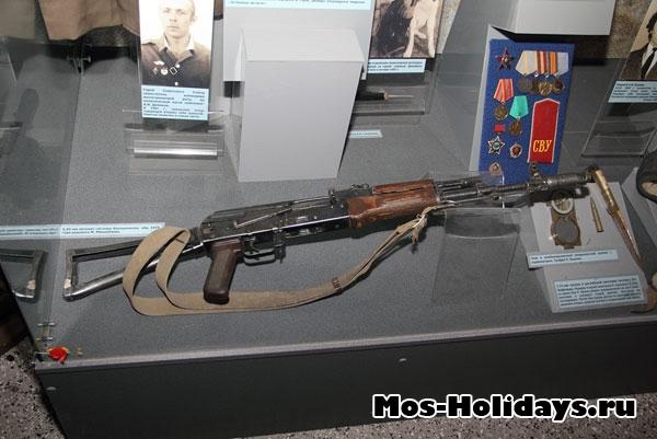 Автомат Калашникова. Центральный музей вооружённых сил.