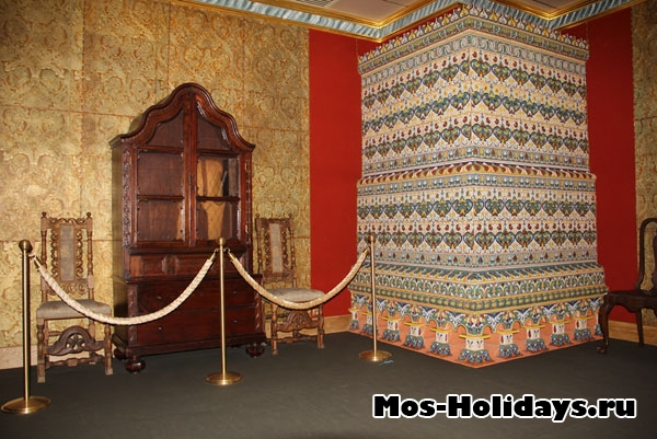 В Думной палате дворца Алексея Михайловича