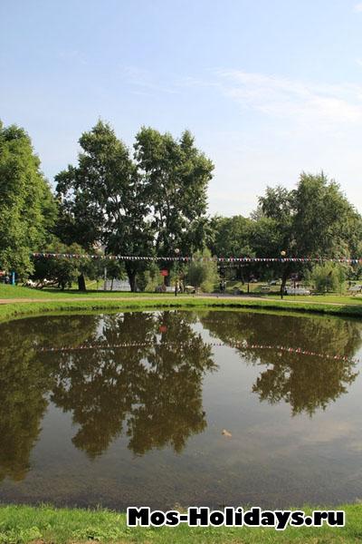 Малый пруд в Екатерининском саду