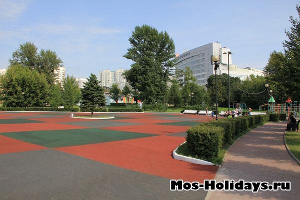 Площадка для игр в Екатерининском парке