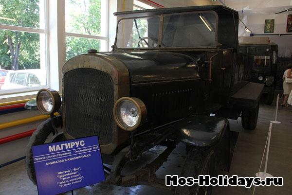 Магирус из музея ретро машин Мосфильма