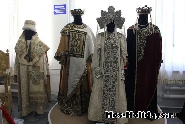 Костюмы в Музее Мосфильма