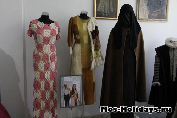 Платье Натальи Бондарчук из фильма Солярис, музея Мосфильма
