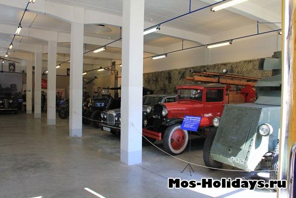 Музей ретро машин Мосфильма