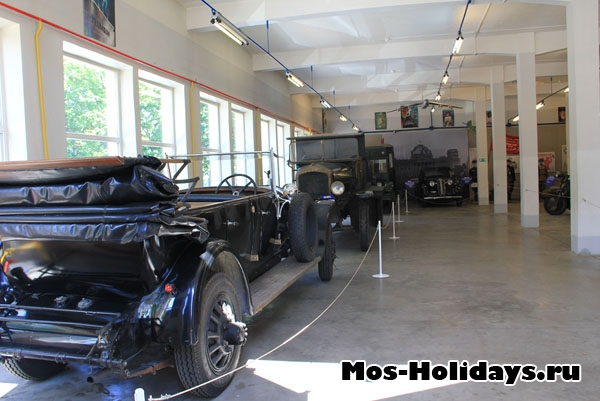 Музей ретро машин в Мосфильме