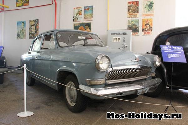 ГАЗ-21, Волга из музея ретро машин Мосфильма
