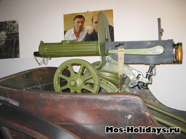 Тачанка из музея киностудии Мосфильм