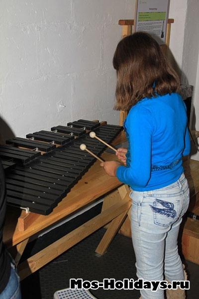 Музыкальная комната в Экспериментариуме