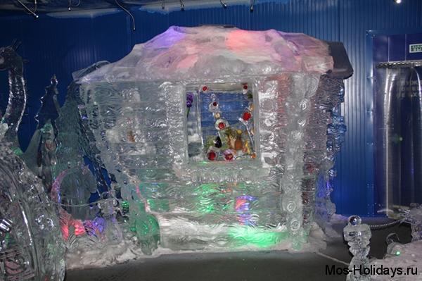 Выставка ледяных скульптур на Красной Пресне