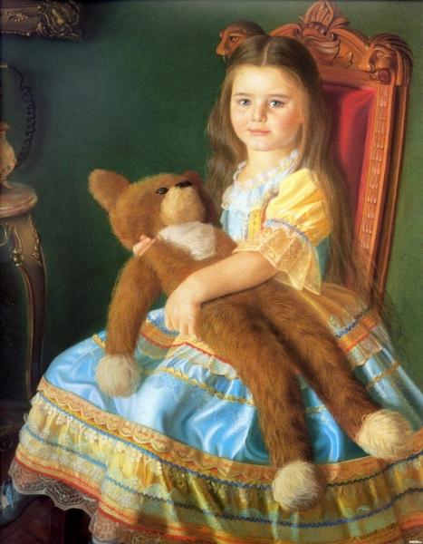 Картина из Галереи Шилова в Москве
