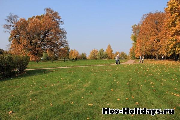 Фото Коломенского осенью
