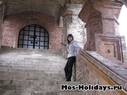Лестница в Малый Успенский собор в Крутицком подворье хорошее место для фотосъёмки