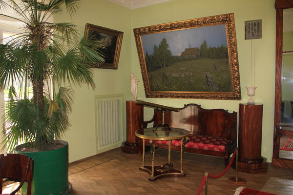 Интерьеры в усадьбе Ленина в Горках