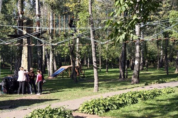 Панда парк в Лианозовском парке
