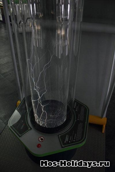 Аппарат показывает плазму.