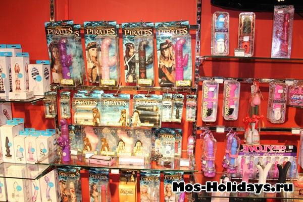 Фото из магазина музея эротического искусства на Новом Арбате
