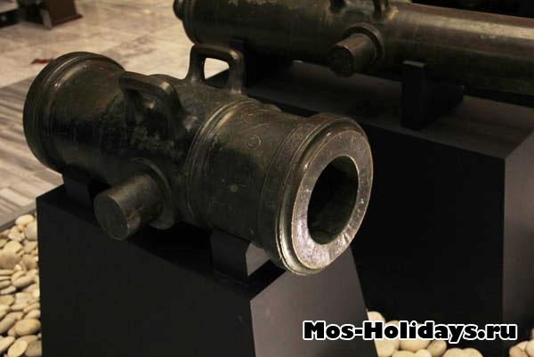 Пушки времен Отечественной войны 1812 года