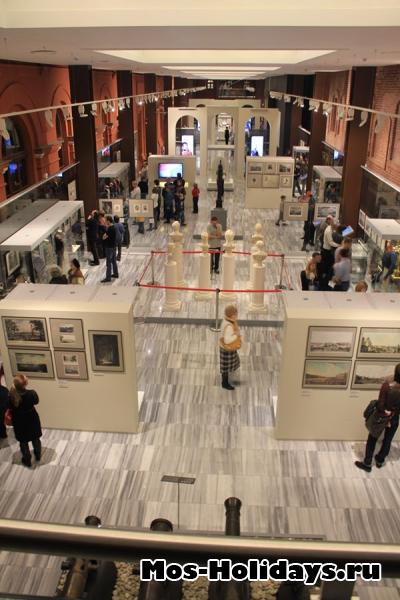 Первый этаж музея Отечественной войны 1812 года