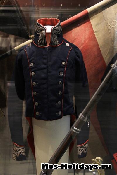 Солдатский мундир времен Отечественной войны 1812 года