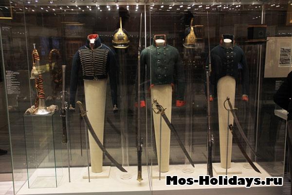 В музее Отечественной войны 1812 года