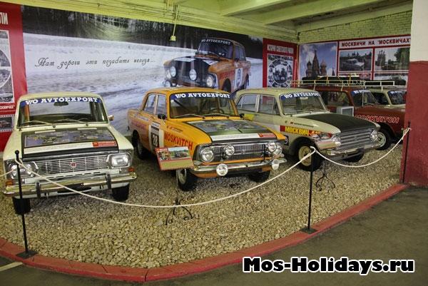 Москвичи в музее на Рогожском валу