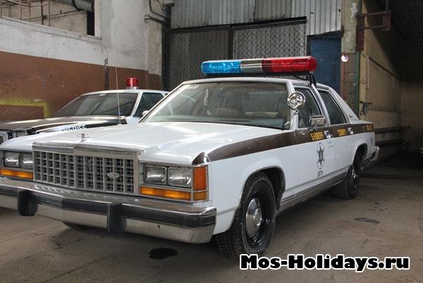 Машина шерифа