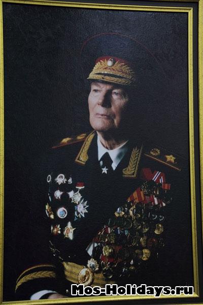 Портреты главнокомандующих в ВОВ