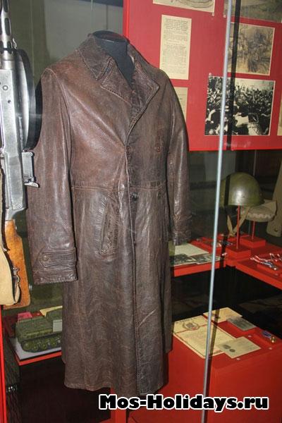 Кожаное пальто маршала Советского Союза Конева И.С.