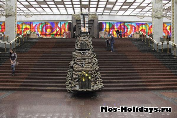 Второй этаж музея Великой Отечественной Войны на Поклонной Горе