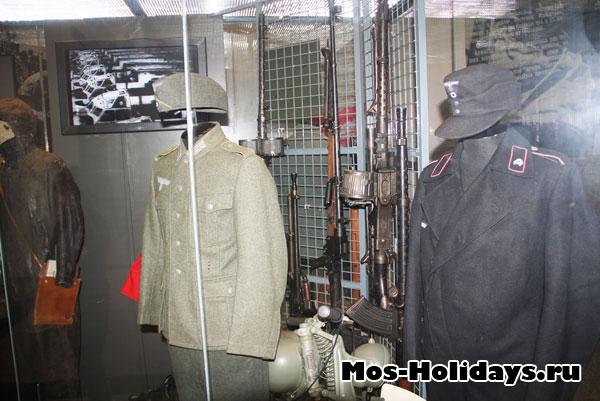 Военная форма и стрелковое оружие времен Великой Отечественной Войны