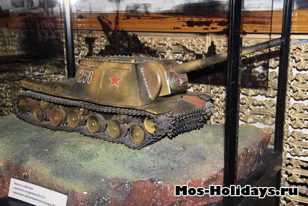 Самоходная артиллерийская установка ИСУ-122 (музей Великой Отечественной Войны на Поклонной горе)