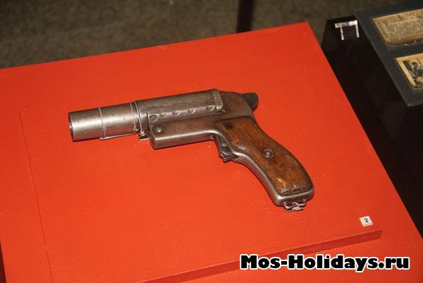 Сигнальный пистолет (музей Великой Отечественной Войны на Поклонной горе)